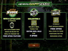Untamed Giant Panda - Microgaming