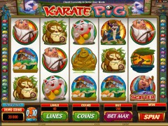 Karate Pig - Microgaming
