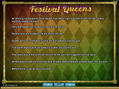 Festival Queens gryautomaty77.com Microgaming 4/5
