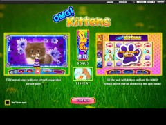 OMG Kittens gryautomaty77.com William Hill Interactive 1/5