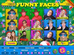 Funny Faces 9 Lines gryautomaty77.com Wirex Games 1/5