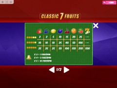 Classic7Fruits gryautomaty77.com MrSlotty 5/5