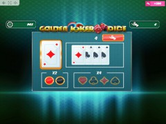 Golden Joker Dice gryautomaty77.com MrSlotty 3/5