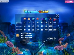 Mermaid Gold gryautomaty77.com MrSlotty 5/5